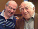 Robert with Ed Asner